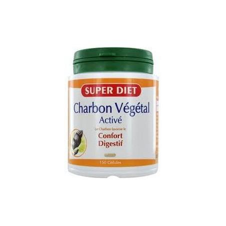 Charbon végétal activé bio transit Super Diet
