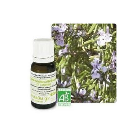 Aceite esencial orgánico de romero alcanforado 10ml - Aromaterapia Pranarom