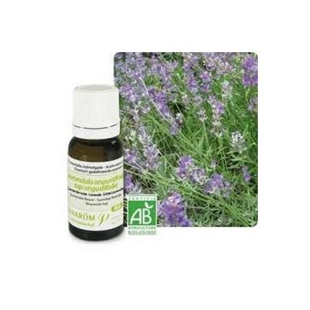 Aceite esencial orgánico de lavanda verdadera u oficinal 10ml - Aromathérapie Pranarom