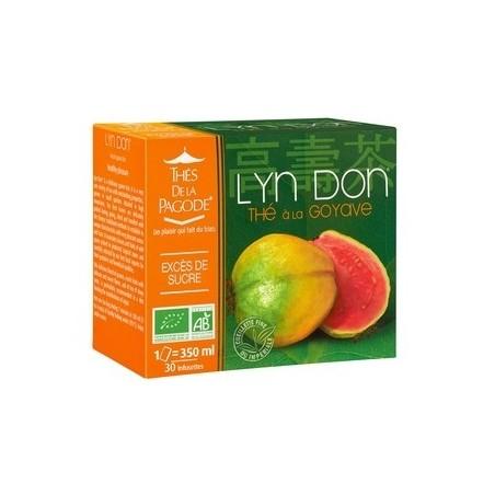 Té Lyn Don orgánico de guayaba 30 infusiones - control del azúcar Thés de la pagode