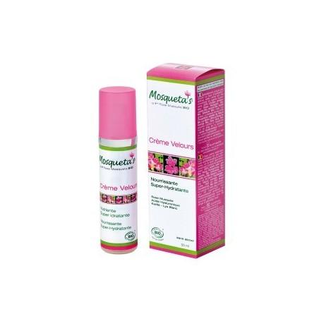 Crema de terciopelo súper hidratante orgánica de Mosqueta's 50ml