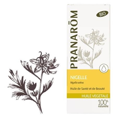 Nigelle bio Huile végétale 50ml - Aromathérapie Pranarom