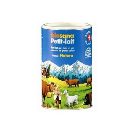 Petit lait granulés nature - Sels minéraux basiques Biosana