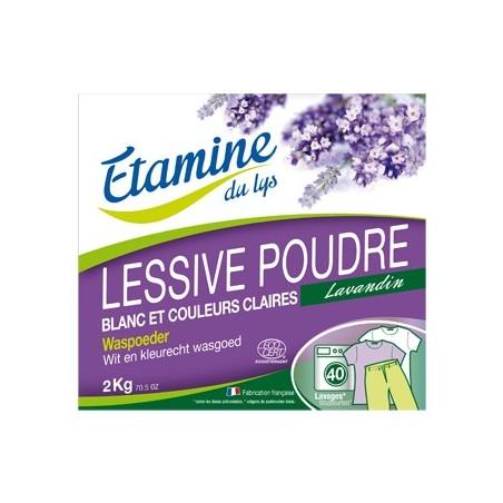 Lessive poudre bio Etamine du Lys