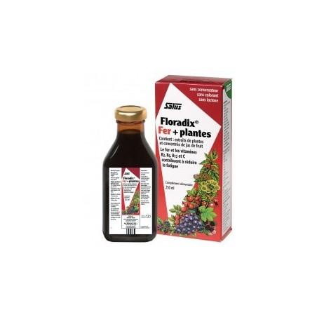 Floradix fer et plantes liquide - Apport en fer Salus