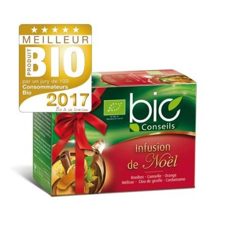 Infusión de Navidad orgánica en bolsitas de té - Bio Consejos Yves Ponroy