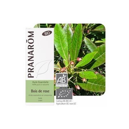 Palo de rosa Aceite esencial orgánico 10ml - Aromaterapia orgánica Pranarom