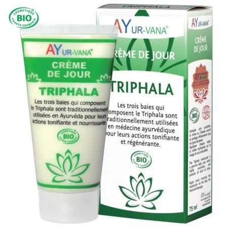 Crème de jour ayurvédique bio au Triphala Ayur Vana