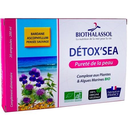 DETOX'SEA pour une pureté de la peau, Laboratoires Biothalassol